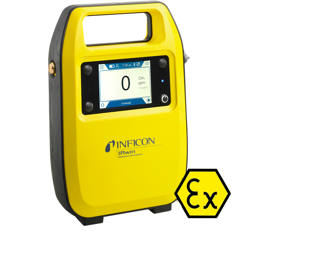 IRwin Methane Leak Detector for gas pipe survey