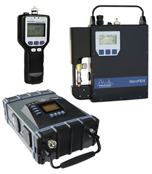 Chemical Detection and Monitoring (GCMS/GC/FID/PID)